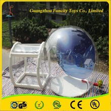 Beautiful inflatable bubble tent made from 1.0mm thickness PVC, custom camping tent, lgloo clear tent