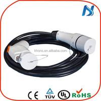 charging cables tuv sae j1772 connectors/ j1772 outlet/ male socket