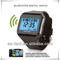 Newest and cheapest fashionable smart bluetooth mobile watch in speaker