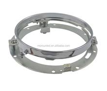 Bracket for 7'' jeep led headlight, 7'' bracket for harley moto 7'' chrome daymark headlight bracket