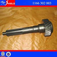ZF 6 Speed Gear Box Input Shaft 1166 302 003 for Bus