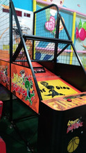 Hot popular coin operated arcade amusement electronic basketball scoring machines
