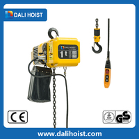 Machinery overload limiter 1.5 ton electric chain hoist 110V