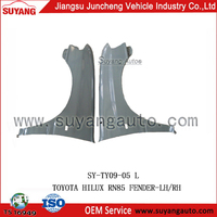 for Toyota Hilux RN85 suyang hot selling replacement front fender auto spare parts