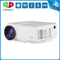 Latest LED Mini Projector, Full HD 3D Lumens, With VGA, AV,USB,SD,TV Inputs in low cost