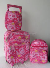 kids rolling luggage case kids trolley suitcase