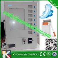 automatical sanitary napkins vending machine/ condom vending machine for 7 selections