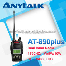 High power 10W new dual band portable radio interphone
