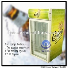 Used mini fridge/Noiseless absorption refrigerator for energy drinks