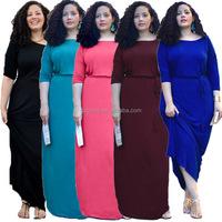 Alibaba Summer Autumn Winter Fat Women Evening Boutique Dress Ladies Kaftan Abaya Online Shopping Hong Kong