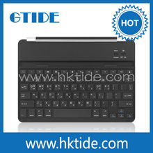 Turkish language ultra thin metal cover magnetic clip keyboard wireless bluetooth 3.0 for ipad air