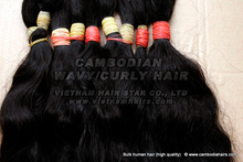 Double drawn Cambodia hair 55cm