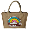 Hottest sale nature large jute shopping bags