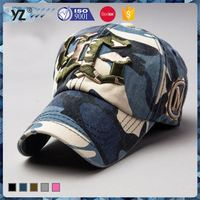 Best selling OEM quality navy blue sports baseball cap made in china