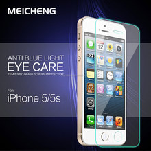 Newest! Factory price mobile phone 0.2mm/0.3mm Tempered Glass screen protector invisible guard for iphone 5C