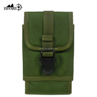 High Quality Assault Paintball Tactical Radio Bag GPS Cover Military Hunting Molle Shell Holder Carrier Pouch