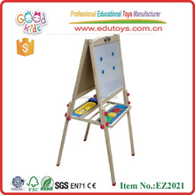 high quality wooden magnetic board size 115*55*56 cm OEM educational erasable drawing board for kids EZ2021