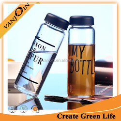 Water Bottle My Bottle 500ml Today`s Special Glass Sports Fruit