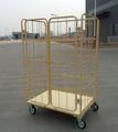 Supermarché roll cage, conteneurs roll, chariots rouleau pour le transport