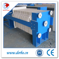Automatic dewatering membrane filter press for Bacl2
