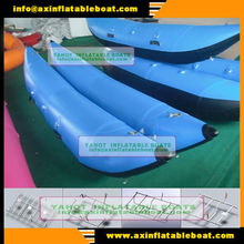 PVC or TPU or Hyplaon Mateiral inflatable Catarafts Pontoon boats YAZCT-1