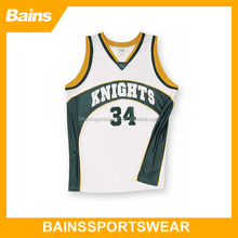 Full sublimation ncaa basketball jersey pictures