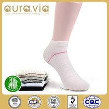 2015 Latest design hot sale ankle bamboo sock