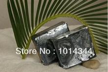 natural bar handmade charcoal soap ,natural soap(wzPS020)