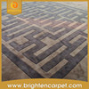 Hotel Handmade Carved Pattern Pure NZ Wool Hand Tufted Carpet