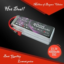 RC Car helicopter 4000 mah 22.2V batteries