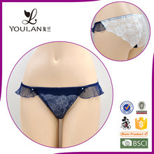 Unique fancy new arrival designer lace sexy cotton sexy small panty