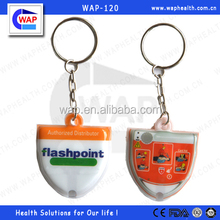 Trade Assurance WAP-health color customized plastic CPR mask keyring