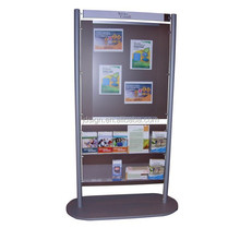 Advertising brochure acrylic display