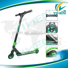 2014 folding two aluminum core wheels extreme stunt pro foot scooter for sale