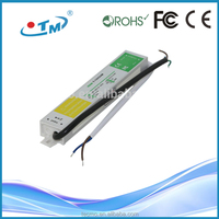 Hot sale 350w led power supply with CE FCC RoHS waterproof 36w 12v