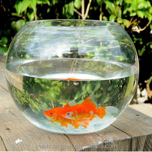 Wholesale cheap beautiful round borosilicate glass fish for Cheap large fish tanks