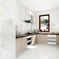 glossy tile ceramic sized in 200*300mm / ceramic bathroom wall tile 250*400 / flower printed wall tile