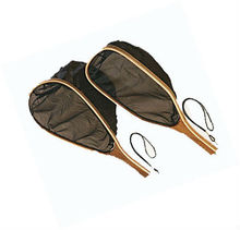 Wooden landing nets for fly fishing
