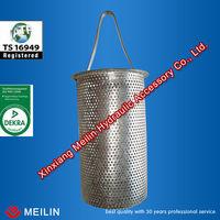stainless steel sintered basket strainer
