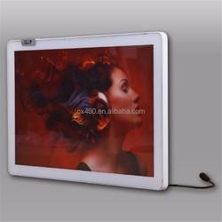 Hot sale to USA XINGSU brand fashion aluminum LED light box poster lighting frame
