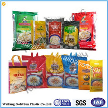 Direct sales brazil sugar bag,50kg pp woven white sugar bag rice bag