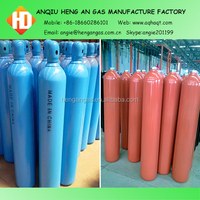 6m3 empty high pressure and steel material gas bottle for helium gas made in china