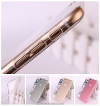 Ultra Thin 0.3mm Crystal Clear Silicone TPU Soft Cover Case For iPhone 6 Plus