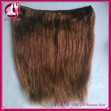 New Products Hot sale remy flip in hair extension Hot sell human hair flip in hair
