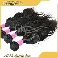 100% Human Hair Extension Natural Color Virgin Brazilian Natural Wave Cheap Aliexpress