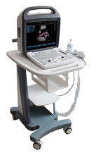clinic use portable doppler color ultrasound equipment with CE certificate