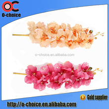 Wholesale Real Touch Orchid Flowers Factory Price Pu Artificial Flower