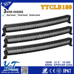 High Power off curved road led light bar off road 886d*111.5w*122h