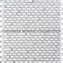 Colorize mosaic glass and mother of pearl shell mosaic tile for wall tile (CS001)