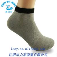 100% Thin Cotton Socks , Custom Mens Ankle Socks Sport , OEM Socks Factory